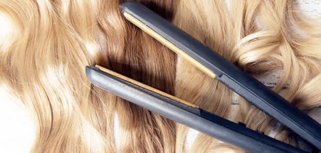 طرق تجعيد الشعر الناعم