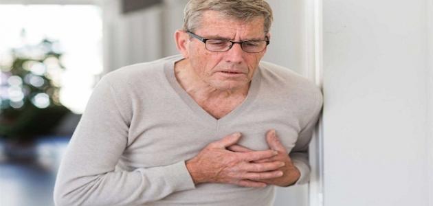 أعراض أمراض القلب التاجية
