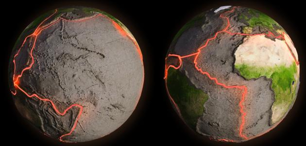 خط الزلازل في العالم