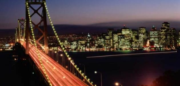 معلومات عن مدينة سان فرانسيسكو