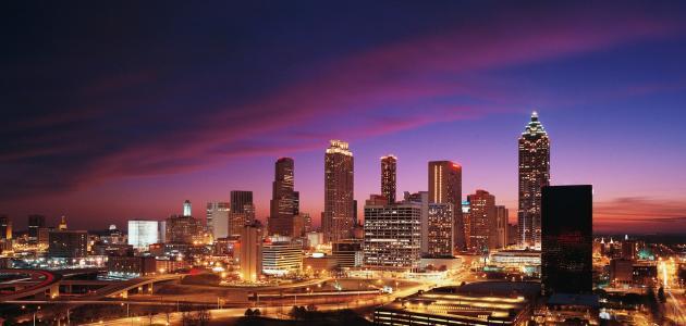 مدينة أتلانتا الأمريكية