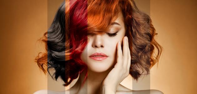 طرق مزج ألوان صبغات الشعر