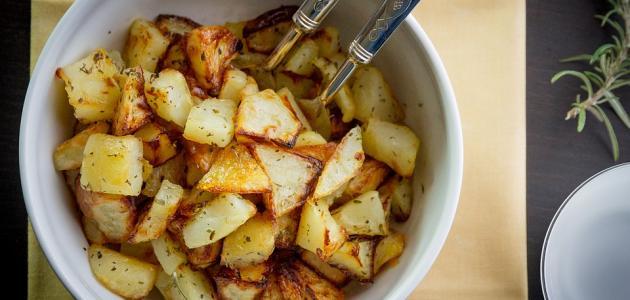وصفات مختلفة لعمل البطاطس