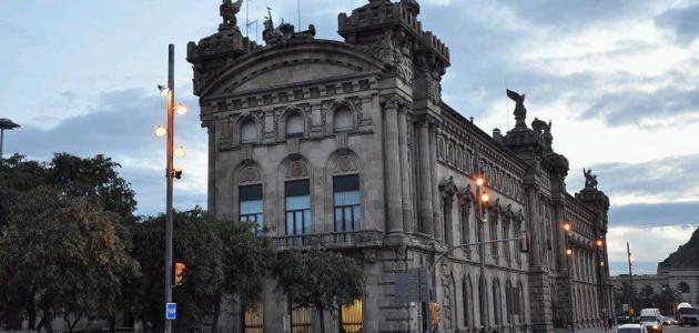 مدينة برشلونة في إسبانيا