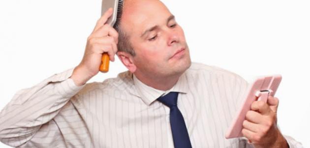 طرق منع تساقط الشعر للرجال