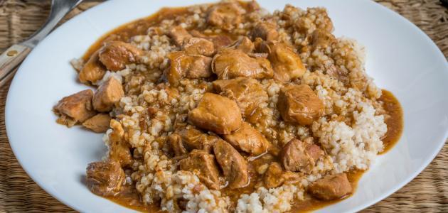 طريقة طبخ الجريش بالدجاج