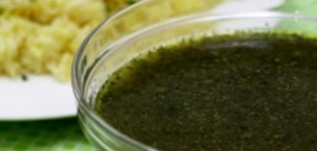 طريقة طبخ الملوخية الفلسطينية