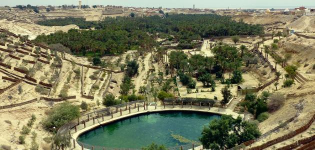 مدينة نفطة التونسية