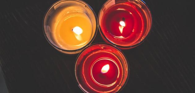 صناعة شمع الإنارة