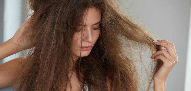 طريقة طبيعية لعلاج تقصف الشعر