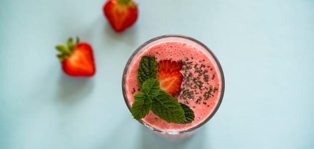 طريقة تحضير عصير لذيذ وسهل