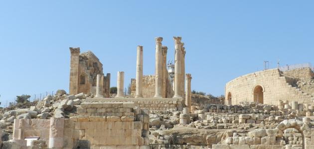 مدينة جرش في الأردن