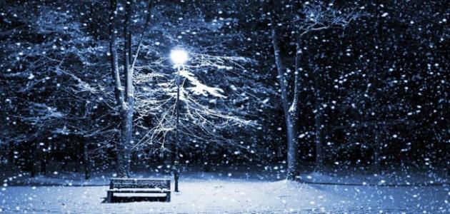 تفسير الثلج في الحلم