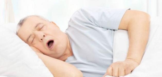 ضيق التنفس وقت النوم