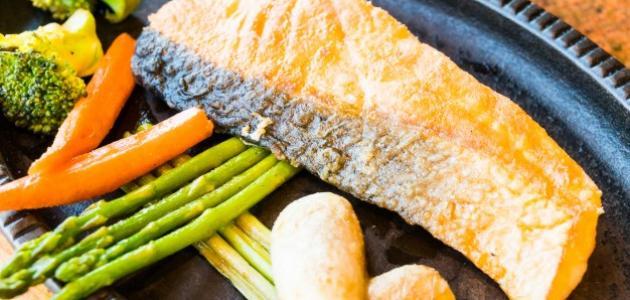 طبق سمك لذيذ