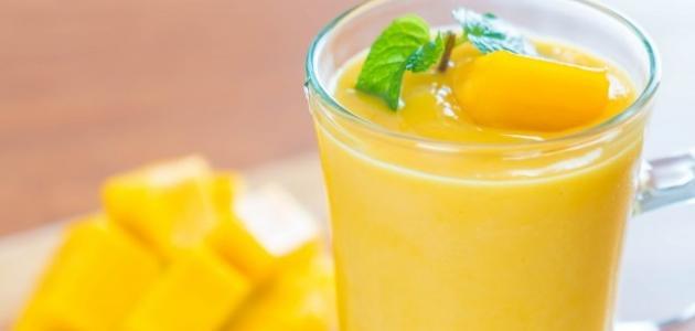 طريقة عمل عصير مانجو طازج