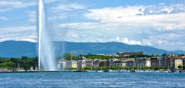 مدينة سياحية في سويسرا