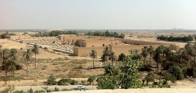 مدينة بابل في العراق