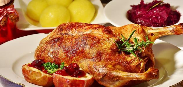 طريقة عمل مشوي الدجاج بالكيس