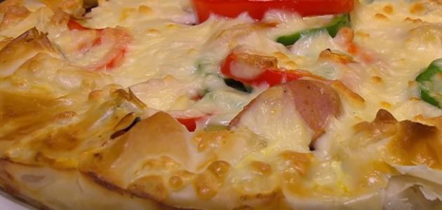طريقة جلاش البيتزا
