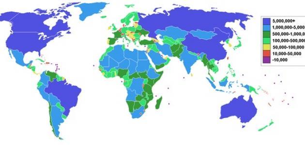 مساحة الوطن العربي