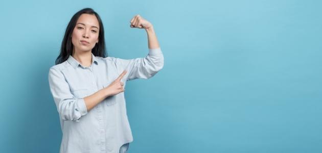 قوة الشخصية عند المرأة