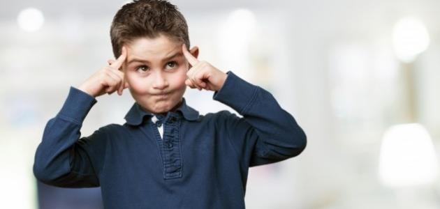 ضعف التركيز عند الطفل