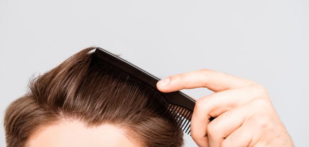 طريقة تنعيم الشعر الجاف للرجال