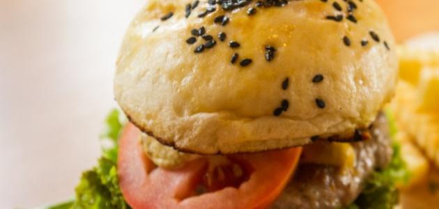 Burger healthy way of work