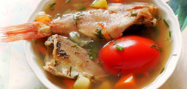 طريقة عمل شوربة سمك