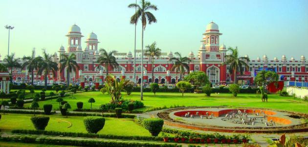 مدينة لكنو في الهند