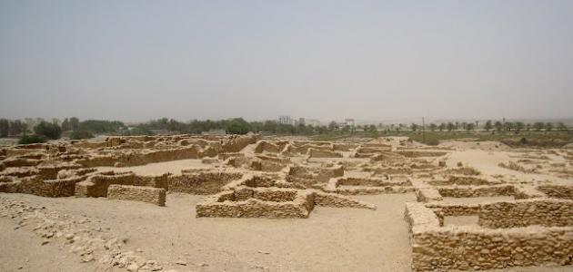 مظاهر حضارة البحرين القديمة