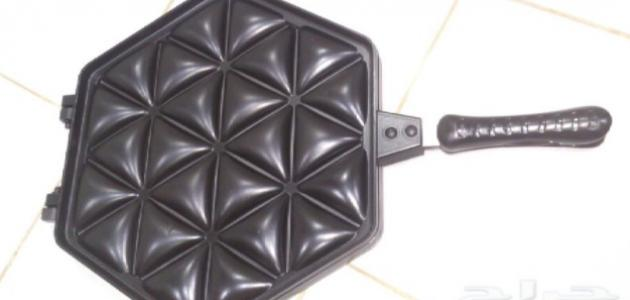 طريقة استخدام صاج السمبوسة