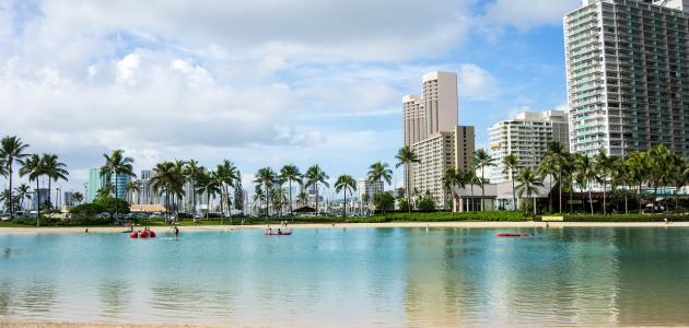 مدينة هاواي في أمريكا