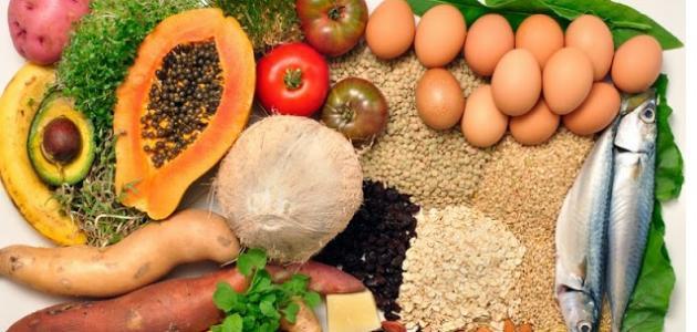 الأكل الصحي وغير الصحي