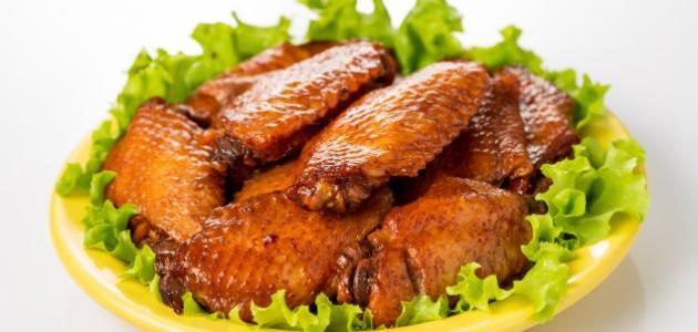طريقة عمل صوص أجنحة الدجاج الحارة