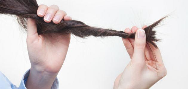 طرق لتخفيف تقصف الشعر
