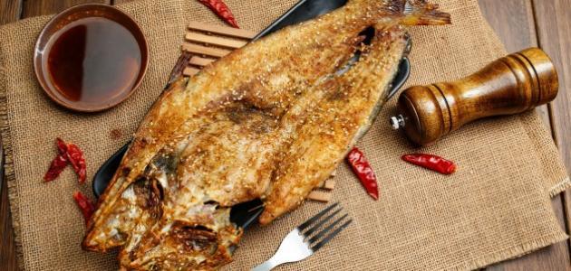 طريقة عمل السمك بالكاري