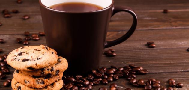طريقة عمل حلى مع القهوة