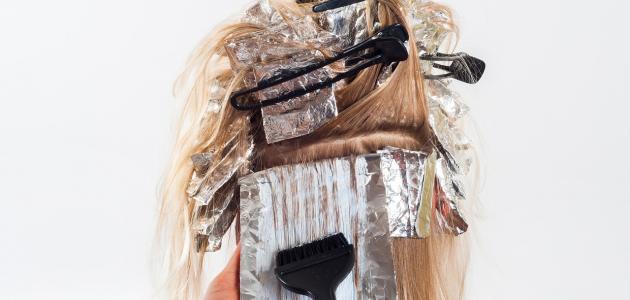 طريقة طبيعية لصبغ الشعر