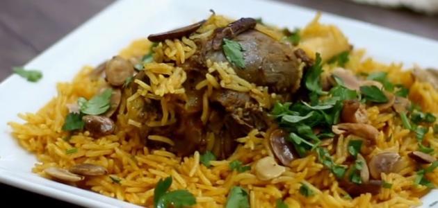 طريقة عمل أرز برياني باللحم
