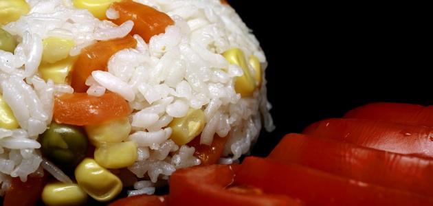 طريقة عمل أرز بالذرة