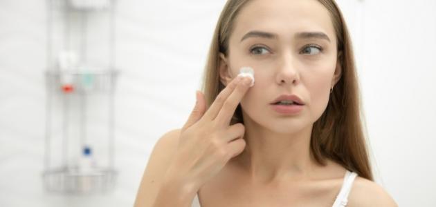 طريقة معالجة حبوب الوجه