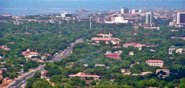 عاصمة دولة غانا