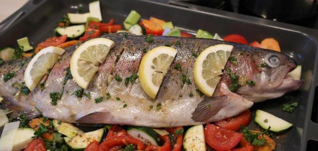 طريقة عمل سمك قشر البياض بالفرن