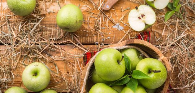 التفاح الأخضر للرجيم