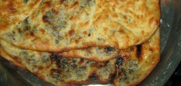 طريقة فطيرة الجبن والزعتر