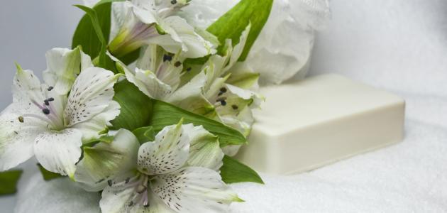 طريقة عمل صابون معطر للجسم