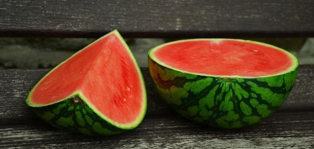 فوائد البطيخ الأحمر للوجه