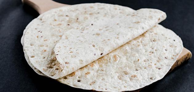 طريقة إعداد خبز التورتيلا